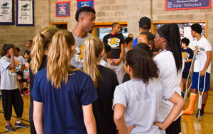 Coach Amani and YBT Girls Basketball